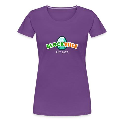 Blockville Classic - Women's Premium T-Shirt