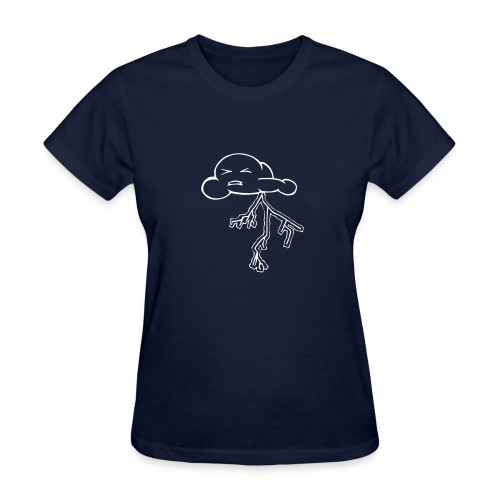 Feel the Thunder - Women's T-Shirt