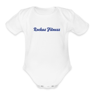 Baby Rockus Fitness One Piece - Short Sleeve Baby Bodysuit