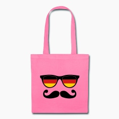 german moustache glasses nerd Bags & backpacks