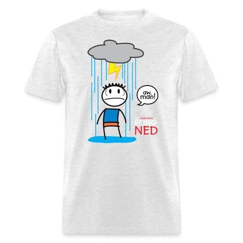 Rain Cloud Ned T-Shirt - Men's T-Shirt