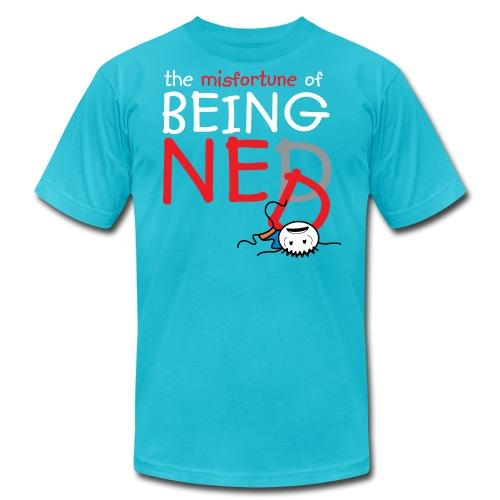 Crushed Ned American Apparel T-Shirt - Men's  Jersey T-Shirt
