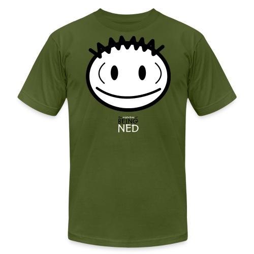 Big Face Ned American Apparel T-Shirt - Men's  Jersey T-Shirt