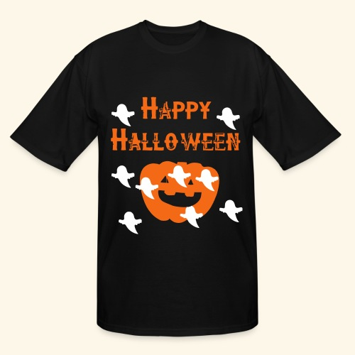Happy Halloween - Men's Tall T-Shirt