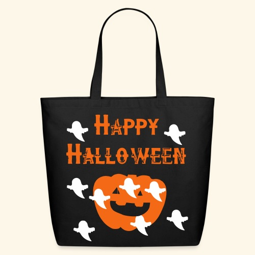Happy Halloween - Eco-Friendly Cotton Tote