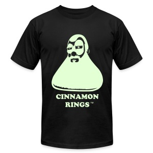 Cinnamon Rings™ (Glow In The Dark Flex) - Men's Fine Jersey T-Shirt