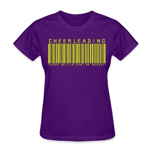 CHEER BARCODE - Women's T-Shirt
