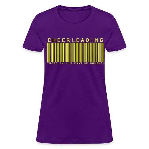 CHEER BARCODE - Women's T-Shirt