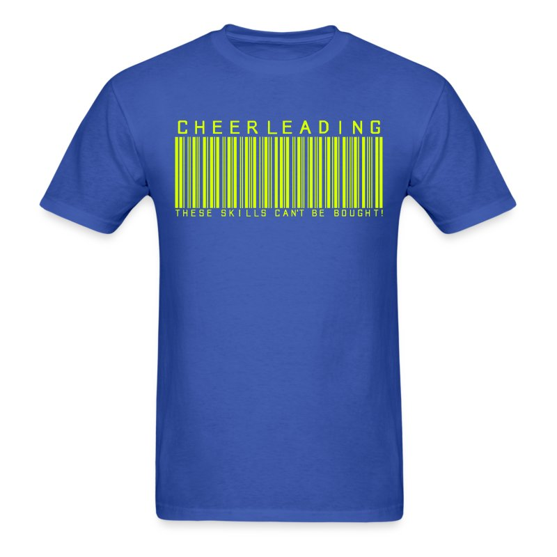 CHEER BARCODE - Men's T-Shirt