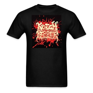Krotchripper splatter logo - Men's T-Shirt