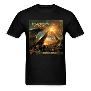 Hemorrhaging Elysium - Degrading Mortality   - Men's T-Shirt