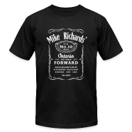 T-Shirts ~ Men's T-Shirt by American Apparel ~ Mike Richards' Top Shelf