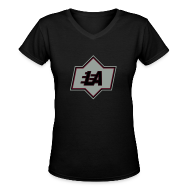 Women's T-Shirts ~ Women's V-Neck T-Shirt ~ Lethal LA