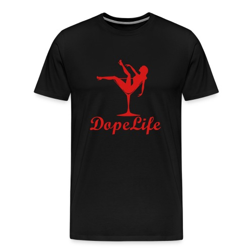 DopeLife Official Shot - Men's Premium T-Shirt