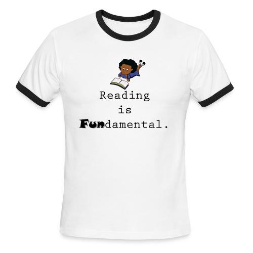 Reading is Fundamental Men Ringer - Men's Ringer T-Shirt