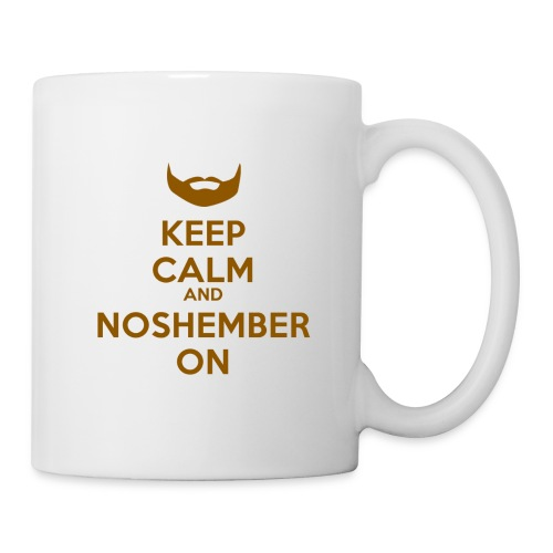 Noshember.com Keep Calm Mug - Coffee/Tea Mug