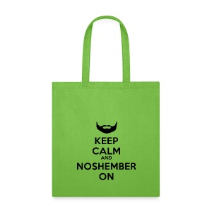 Noshember.com Reusable Grocery Bag - Tote Bag