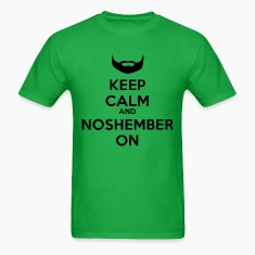 Dude's Noshember Keep Clam Shirt