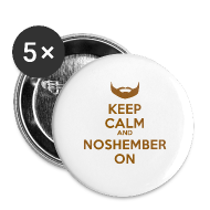 Buttons ~ Large Buttons ~ Noshember Keep Calm Button
