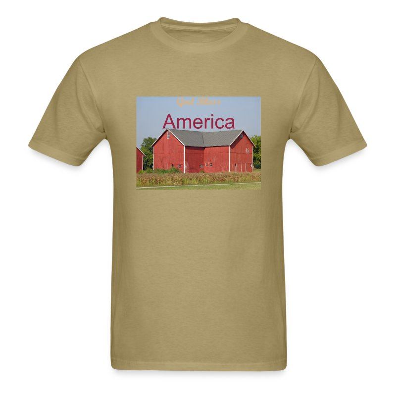 Classic American Barn - Men's T-Shirt
