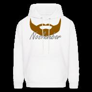 Hoodies ~ Men's Hoodie ~ Bearded Hoodie - Noshember