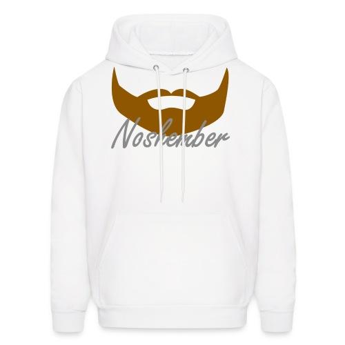 Bearded Hoodie - Noshember - Men's Hoodie