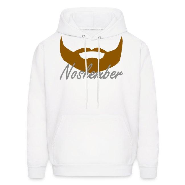 Bearded Hoodie - Noshember