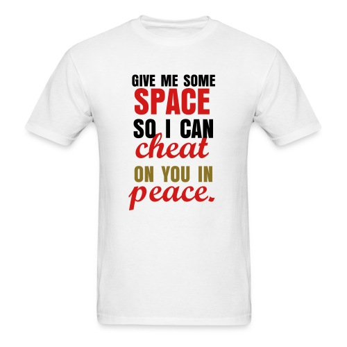 Give Me Some Space Gold Edition Tee - Men's T-Shirt