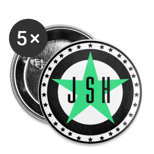 JSH Button Set S Logo #13-gb - Small Buttons