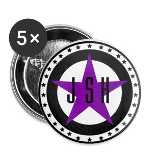 JSH Button Set S Logo #13-lb - Small Buttons