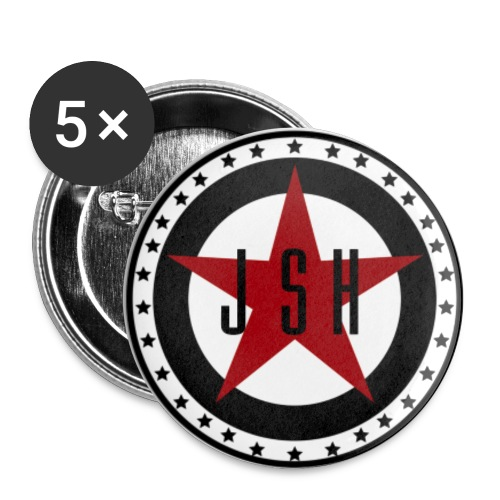 JSH Button Set S Logo #13-rb - Small Buttons