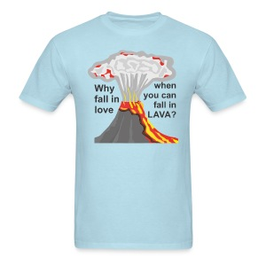 fall in lava - Men's T-Shirt