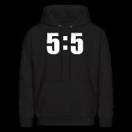 Hoodies ~ Men's Hoodie ~ 5 to 5 Chill To Pull Ratio Hoodie Hoody Sweatshirt