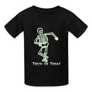 Trick or Treat Glow in the dark - Kids' T-Shirt