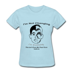 Ladies - J-Lin's Not Changing, Gurl - Women's T-Shirt