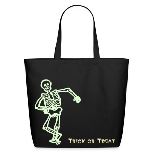 Trick or Treat Glow in the dark - Eco-Friendly Cotton Tote