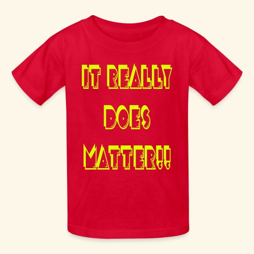 It really does matter!! - Kids' T-Shirt