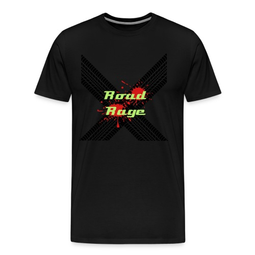 Road Rage men's shirt - Men's Premium T-Shirt