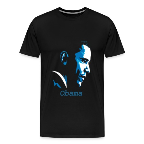Barack Obama Silhuet Tshirt - Men's Premium T-Shirt