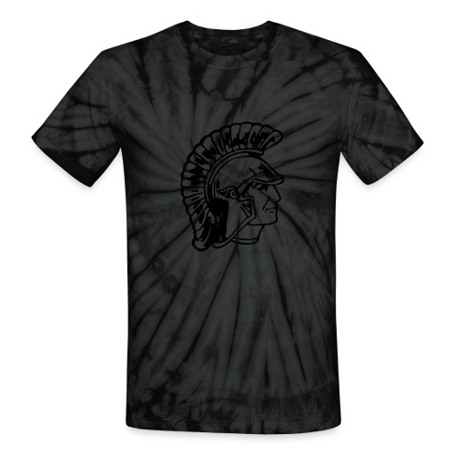 Spartan Tie-Die Shirt - Unisex Tie Dye T-Shirt