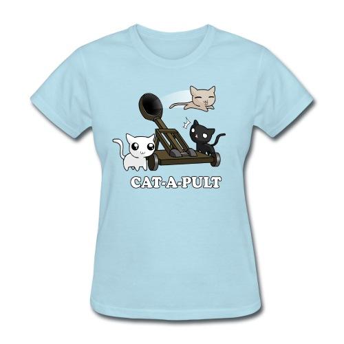 Cat-a-Pult - Women's T-Shirt