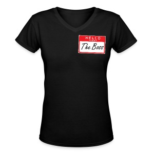 Hello My Name Is - Women's V-Neck T-Shirt