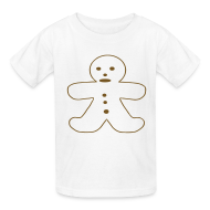 Kids' Shirts ~ Kids' T-Shirt ~ Gingerbread Man