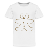 Kids' Shirts ~ Kids' Premium T-Shirt ~ Gingerbread Man