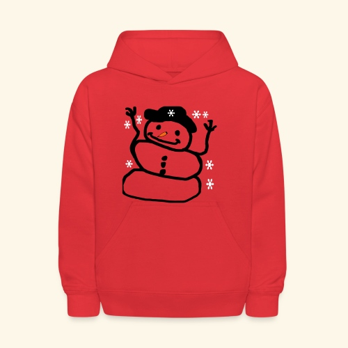 Snowman  - Kids' Hoodie