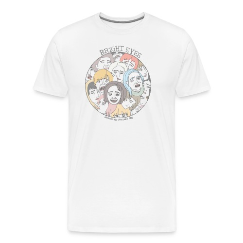 Bright Eyes Band Shirt - Men's Premium T-Shirt
