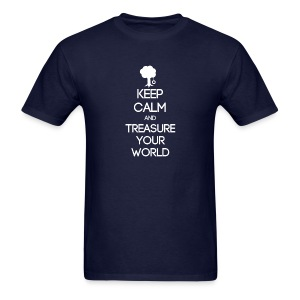 ISFP ~ Keep Calm and Treasure Your World T-shirt - Men's T-Shirt