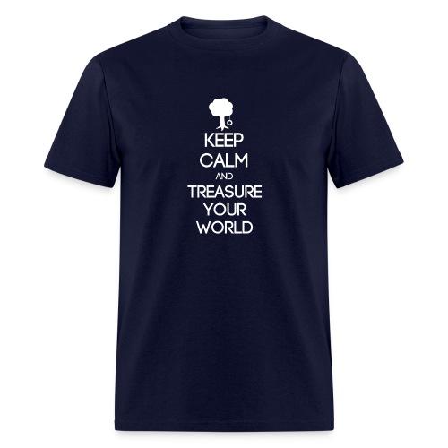 ISFP ~ Keep Calm and Treasure Your World T-shirt - Men's T-Shirt