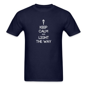 INFP ~ Keep Calm and Light the Way T-shirt - Men's T-Shirt
