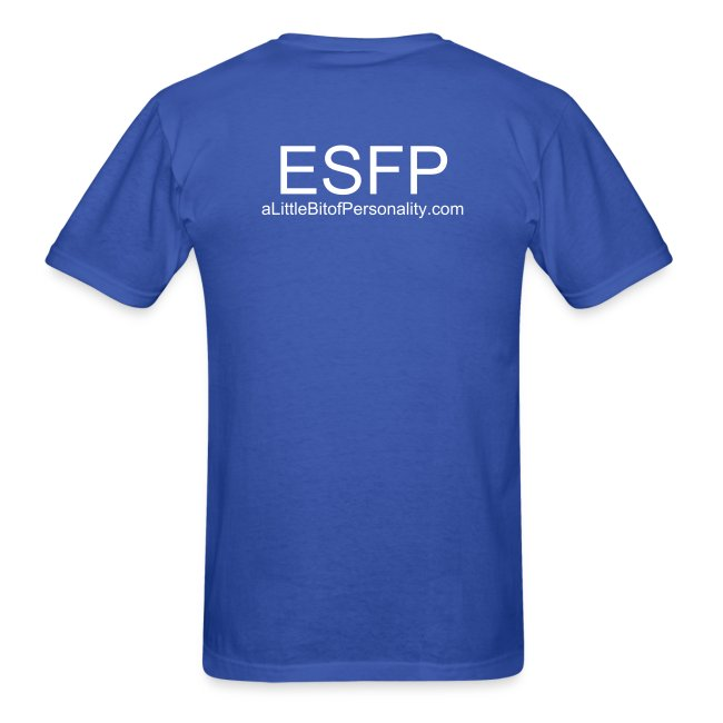 ESFP ~ Keep Calm and Party On T-shirt